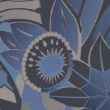 Osborne & Little Fantasque Cobalt & Ebony Wallpaper