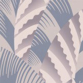 Osborne & Little Chrysler Lilac & Silver Wallpaper - Product code: W6891-01