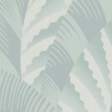 Osborne & Little Chrysler Duck Egg Wallpaper - Product code: W6891-04