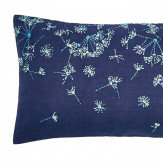 Clarissa Hulse Clover Stripe Cushion Navy