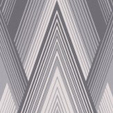 Osborne & Little Astoria Silver & Graphite Wallpaper - Product code: W6893-03