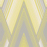 Osborne & Little Astoria Silver & Yellow Wallpaper - Product code: W6893-05