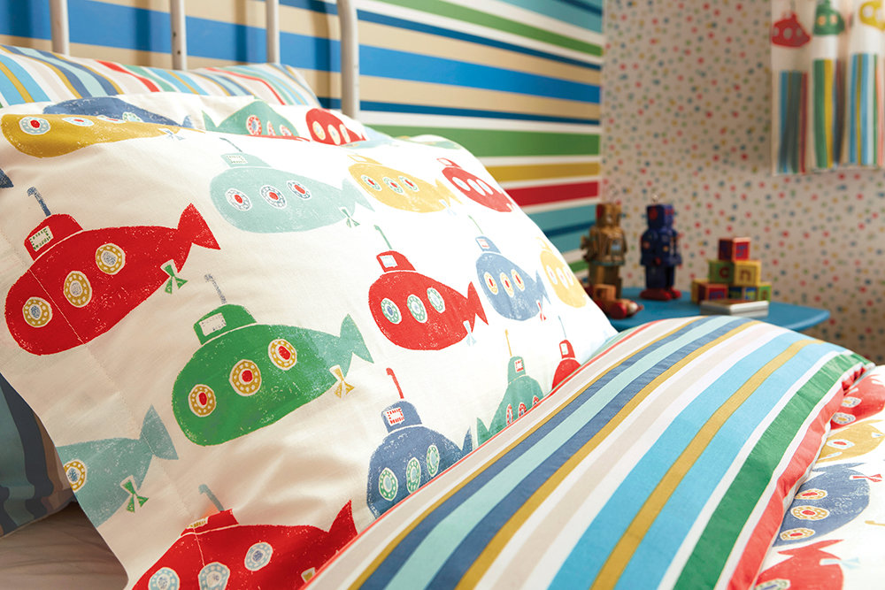 Scion Up Periscope Housewife Pillowcase Multi-coloured - Product code: 88810