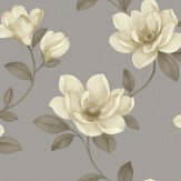 Sophie Conran Magnolia Grey Wallpaper
