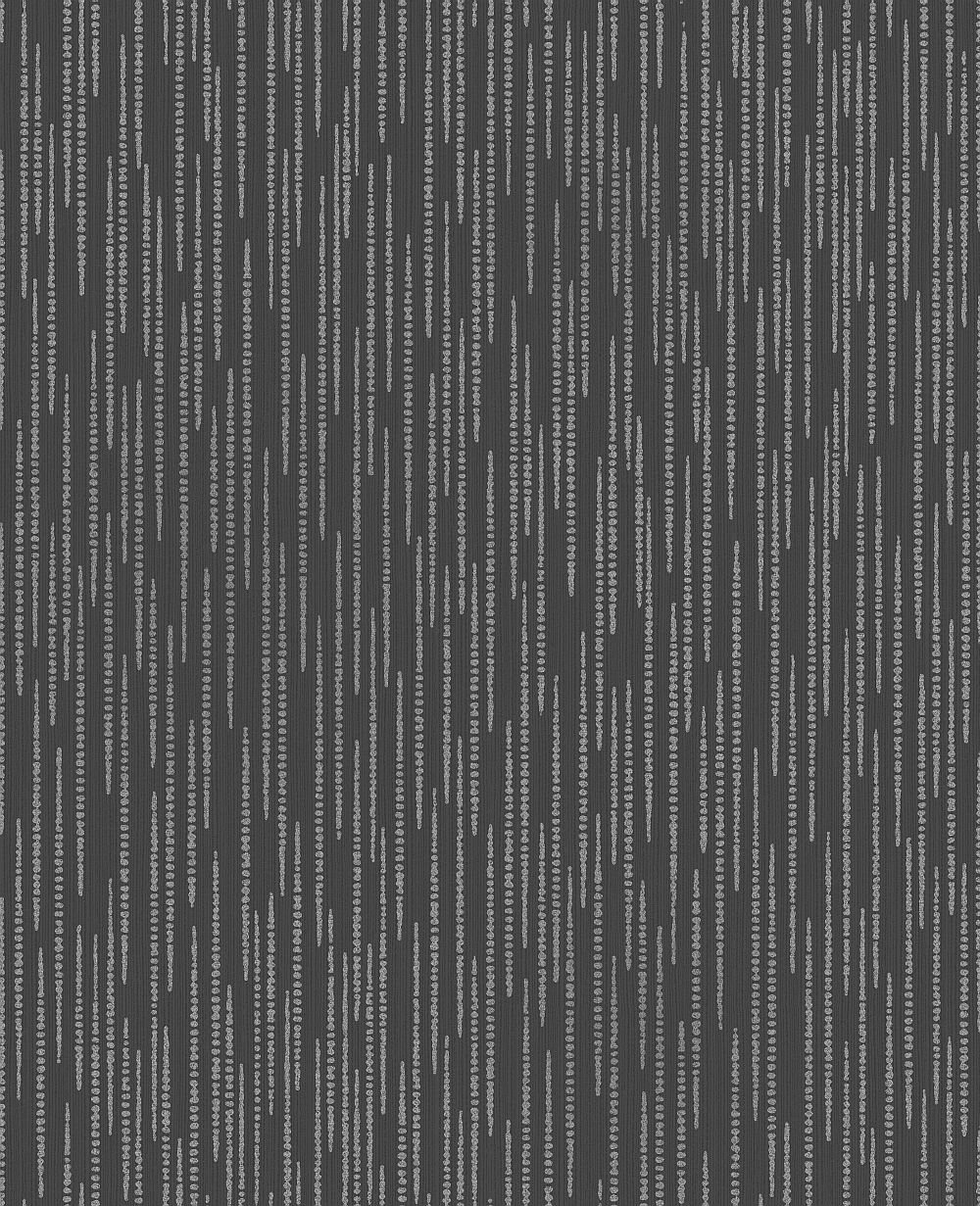 Albany Dotted Stripe Charcoal Wallpaper - Product code: DL40787