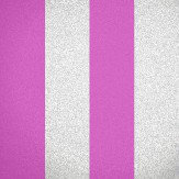 Albany Glitter Broad Stripe Pink Wallpaper