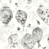 Albany Bonbori Black & White Wallpaper - Product code: 98641