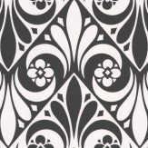 Timney Fowler Stamford Black / White Wallpaper