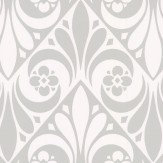 Timney Fowler Stamford Grey / White Wallpaper