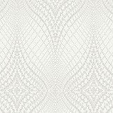 Albany Luxor Dove White Wallpaper