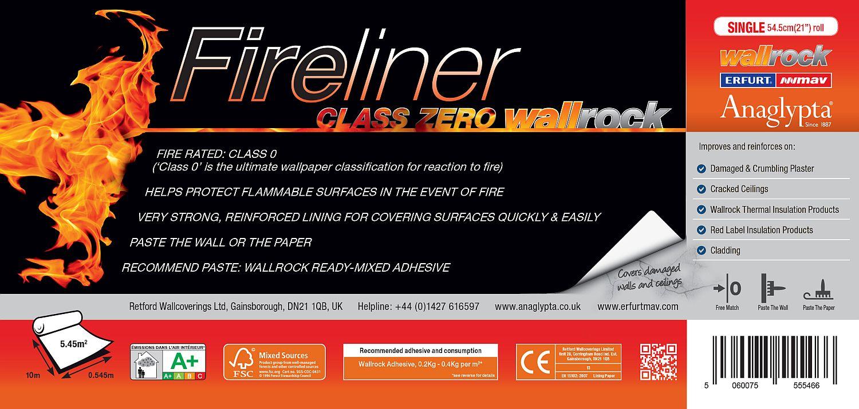 MAV Wallrock Fireliner 55 Double Lining Paper - by Wallrock