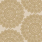 Albany Mandala Gold Wallpaper