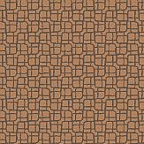 Albany Mosaic Copper Wallpaper
