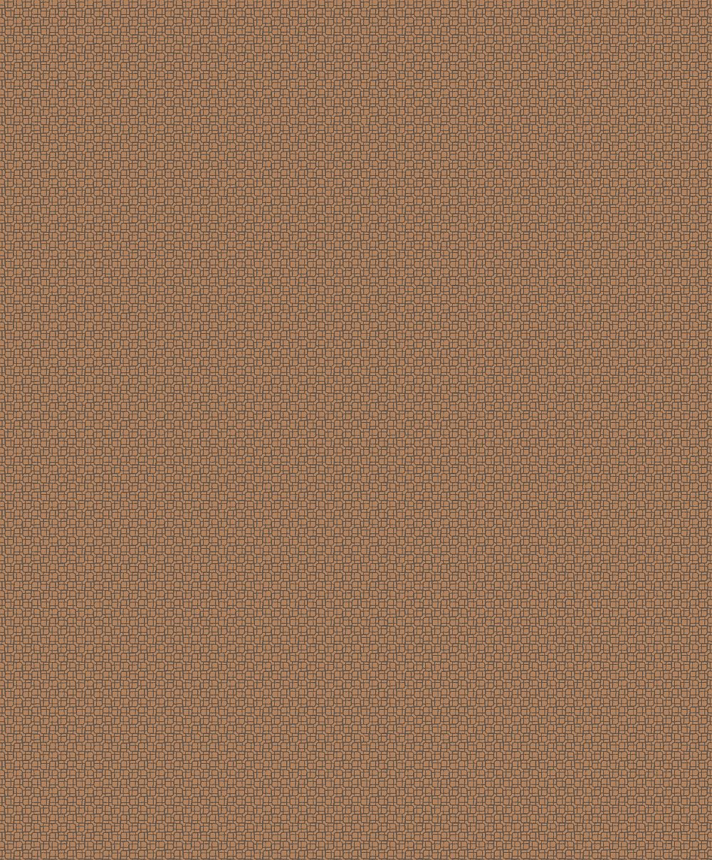Albany Mosaic Copper Wallpaper main image