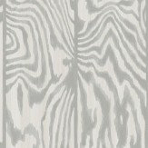 Cole & Son Zebrawood Grey Wallpaper