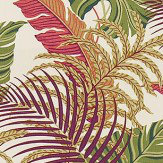 Sanderson Manila Mulberry / Sand Fabric - Product code: 223281