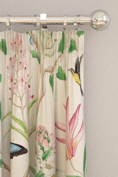 Sanderson Clementine Chintz Curtains