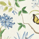Sanderson Clementine Delft Blue Fabric - Product code: 223299