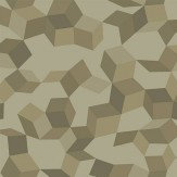 Cole & Son Ingot Olive / Gilver Wallpaper