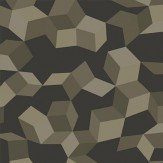 Cole & Son Ingot Charcoal / Silver Wallpaper
