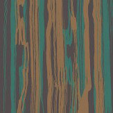 Cole & Son Strand Emerald / Gold Wallpaper - Product code: 107/7036