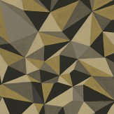 Cole & Son Quartz Gold / Silver Wallpaper