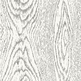 Cole & Son Woodgrain Black / White Wallpaper