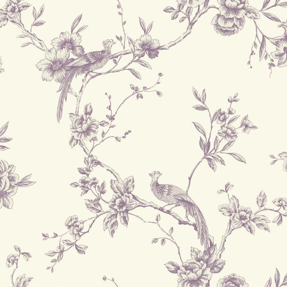 Chinoise By Arthouse Plum Wallpaper Direct