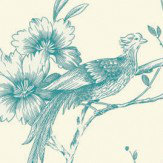 Arthouse Chinoise Teal Wallpaper