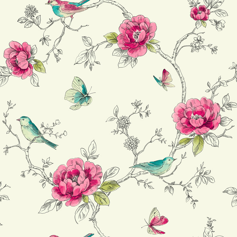 Arthouse Adorn Red Wallpaper - Product code: 650401