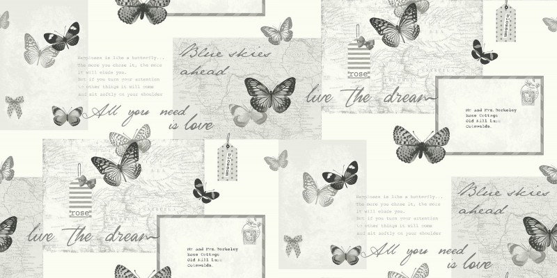 Image of Arthouse Wallpapers Retro Collage, 661301
