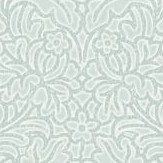 Albany Floriana Texture Duck Egg Wallpaper