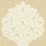 Albany Floriana Damask Gold Wallpaper