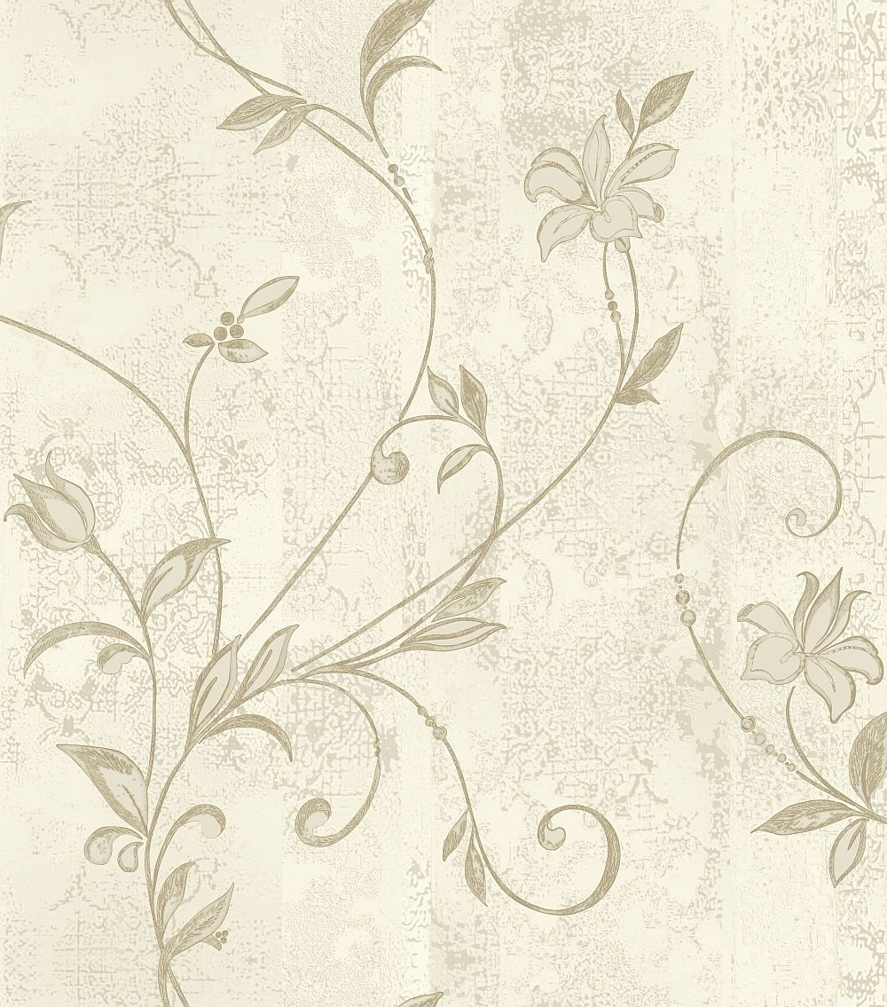 Albany Abelie Taupe Cream Wallpaper - Product code: 35320