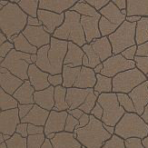 Zoffany Cracked Earth Bronze Wallpaper - Product code: 312529