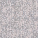 Eijffinger Contemporary Cluster Silver Wallpaper