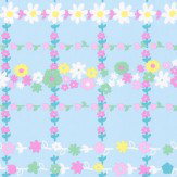 Eijffinger Garden Check Blue  Wallpaper - Product code: 359032
