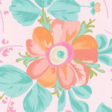Eijffinger Paintery Floral Pink Wallpaper - Product code: 359045