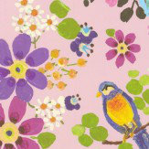 Eijffinger Secret Garden Pink Wallpaper