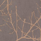 Casadeco Twigs Chestnut Wallpaper