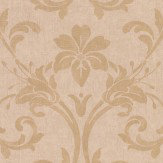 Casadeco Floral Damask Gold Wallpaper - Product code: 26402138
