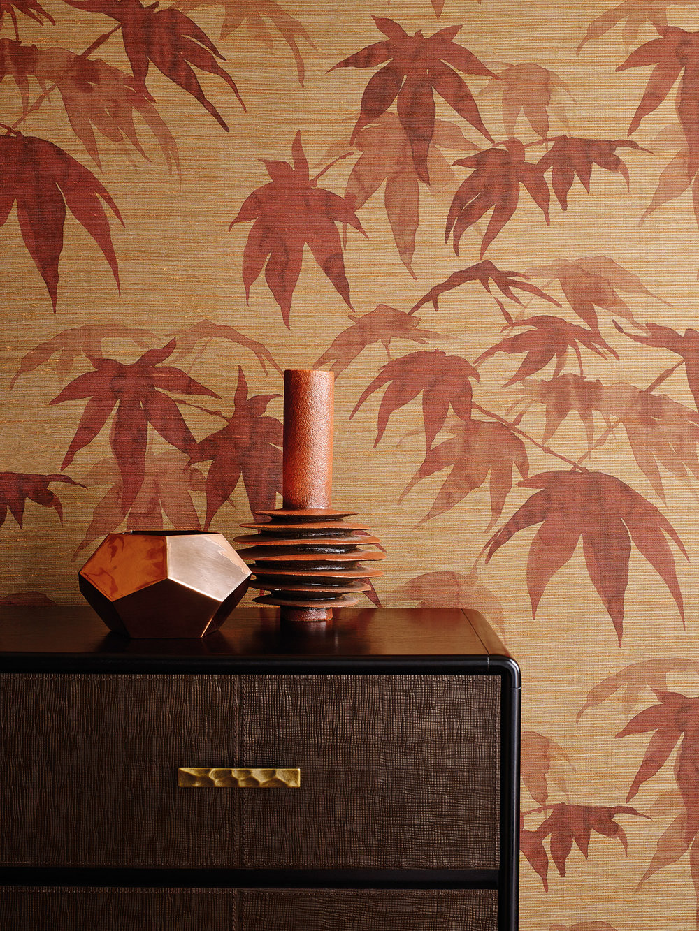 Zoffany Acer Red Wood Wallpaper - Product code: 312496