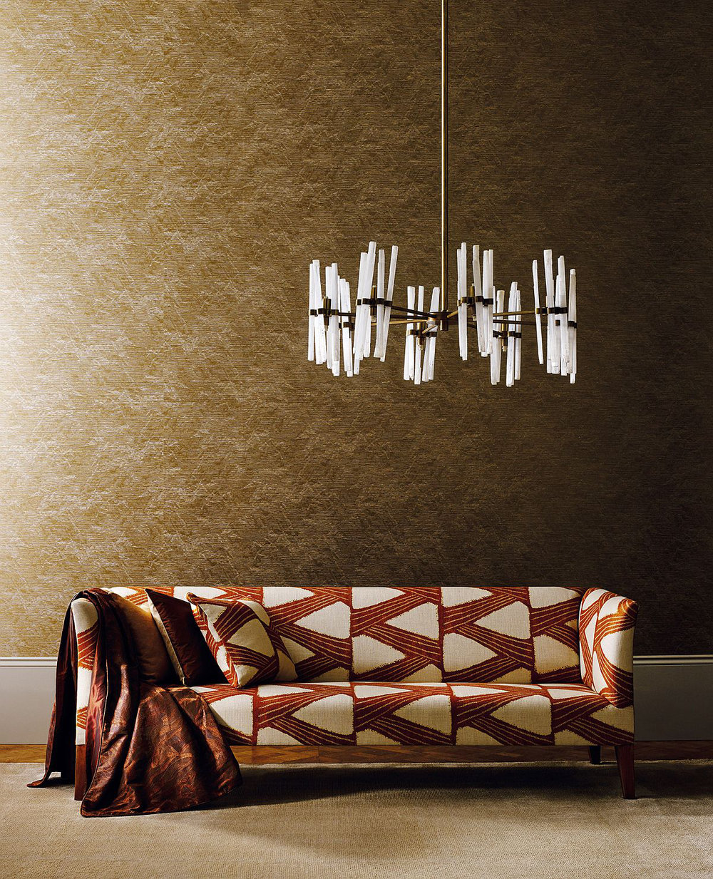 Zoffany Akaishi Gold Wallpaper - Product code: 312498