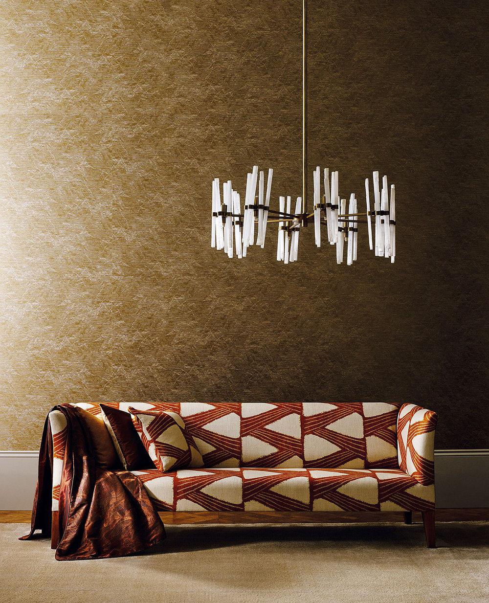 Zoffany Akaishi Oyster Wallpaper - Product code: 312501