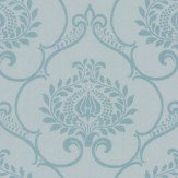 Casadeco Glitter Damask Aqua Wallpaper - Product code: 26456105