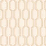 Casadeco Honeycomb Sand Wallpaper