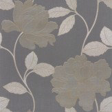Albany Prescious Silk Black Trail Wallpaper