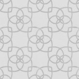 Albany Marrakech Silver / Grey Wallpaper