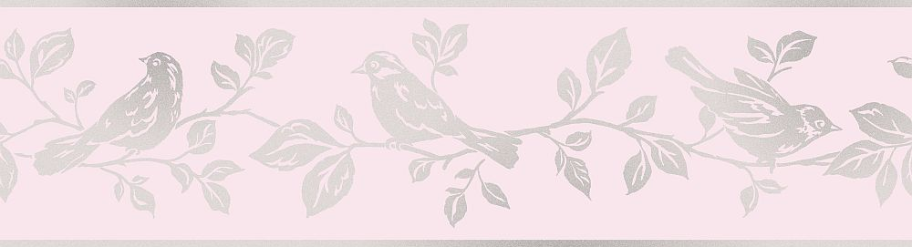 Albany Bird Pink Border - Product code: DLB50150