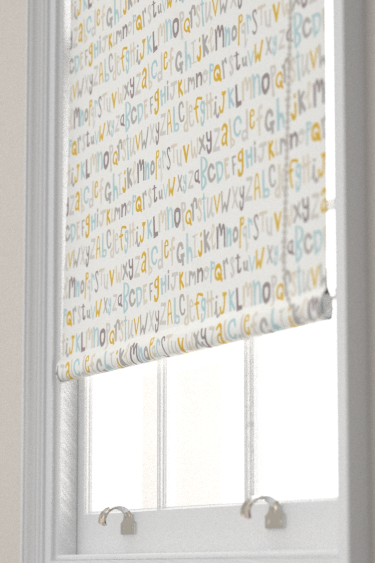 Scion Letters Play Hemp / Biscuit / Paper Blind - Product code: 120455